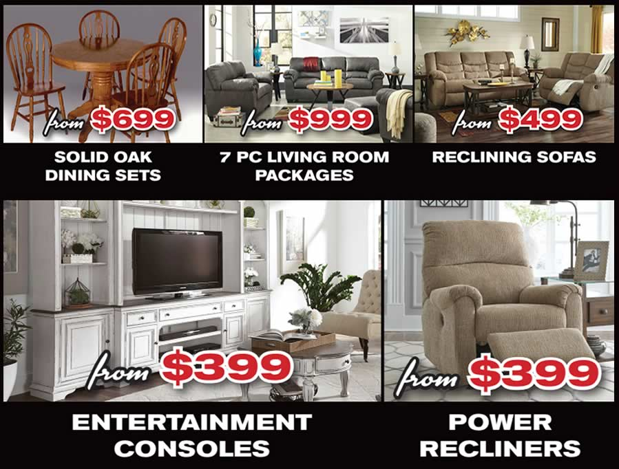 Black Friday Special Furniture Buys!