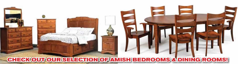 Amish Bedroom and Dining Furniture