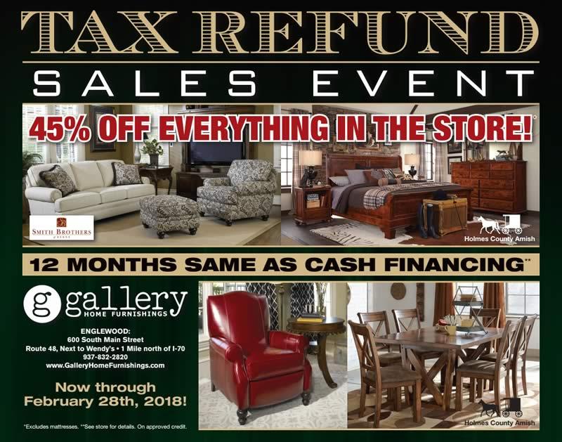 Tax Refund sale ad - 1