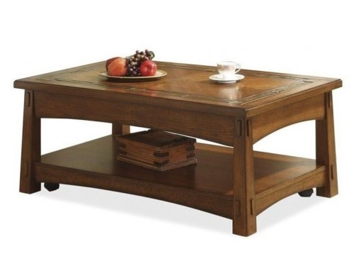 Craftsman Home Lift-Top Coffee Table