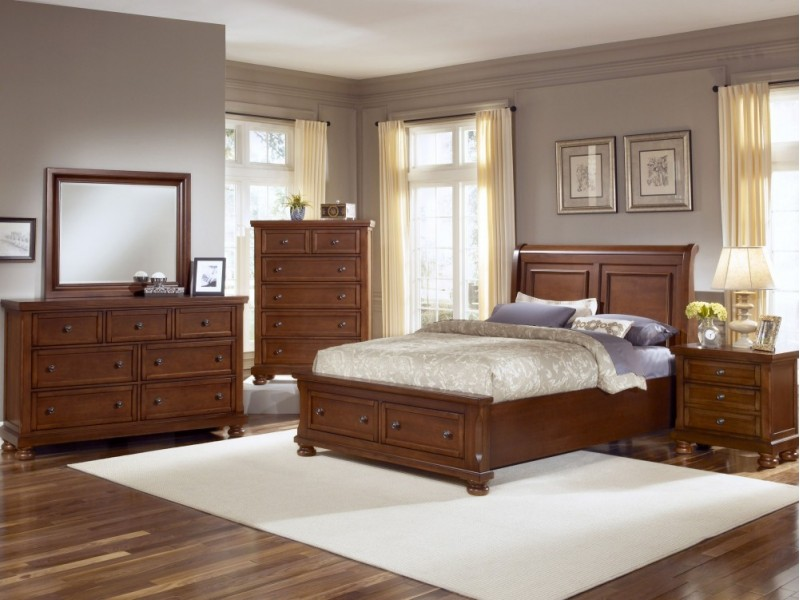 Refelctions Bedroom - Cherry