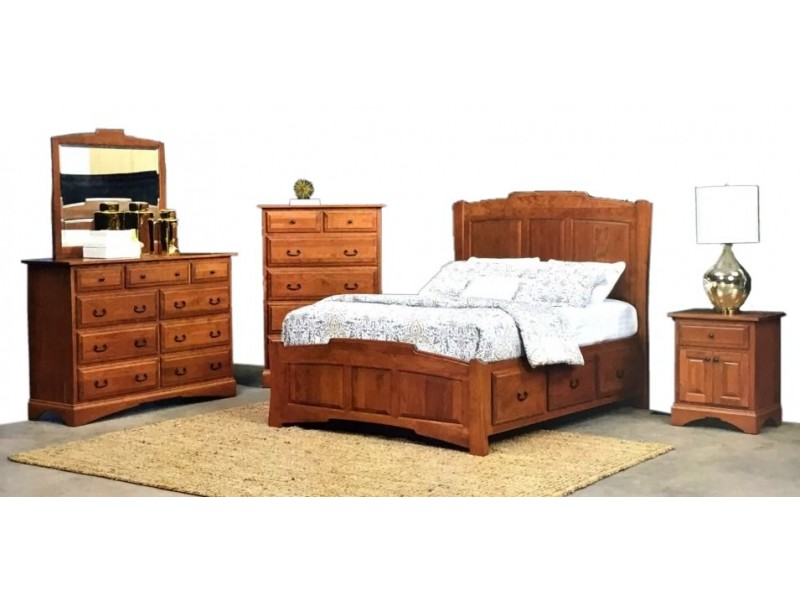 The Oxford Bedroom By Briarwood Amish Furniture Gallery Home