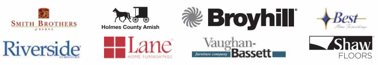 The best furniture, bedding and flooring brands.