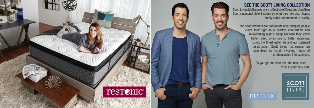 Scott Living by Restonic Mattress Sale