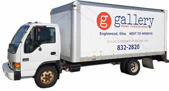 Gallery Home Furnishings Delivery Truck